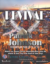 church revival flyers design a flyer for your church