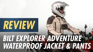 Bilt Jacket Size Chart Bilt Explorer Adventure Waterproof Jacket Pants Review At Cyclegear Com