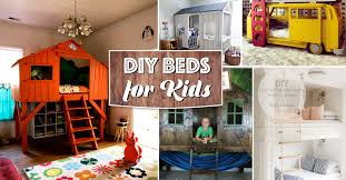 cool diy kids beds.  Kids 25 Awesome DIY Beds For Kids Bringing Comfy And Cozy Together U2013 Cute  Projects With Cool Diy 0