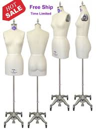 Professional Female Dress Form With Hip And Collapsible Shoulders 601