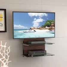 Wall Media Cabinet Furniture Floating Wall Media Cabinet And Tv Hanging On White