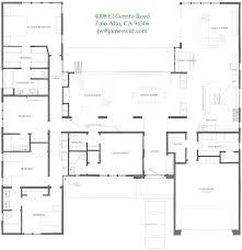 HomeCrunch  James Witt    s Palo Alto dream house is for  The floor plan  Perfect for California living