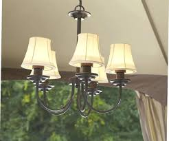 graceful battery operated outdoor chandeliers for gazebos 26 ct solar gazebo chandelier patio living must haves