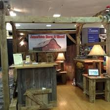 american barn wood s booth at the monterey home and garden show