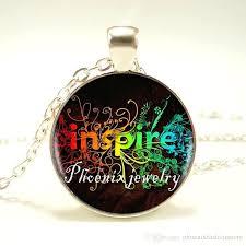 glass pendants for whole phoenix vintage silver necklace inspire e glass pendant plated chain glass pendants