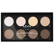 nyx professional makeup highlight contour pro palette0 72 oz