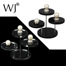 Small Table Display Stands Acrylic jewelry display rack seat for small accessories ear ring 44