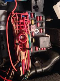 need help tapping into interior fuse box inside fuse box location 2000 toyota camry here is the fuse box with the cables attached