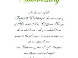 Wedding Anniversary Invitations Birthday Program Template
