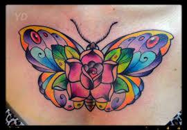 наколки бабочки девушек