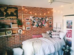 The Brick Bedroom Furniture I Like The Brick Accent Wall And That It Has Shelves Ad Pictures On Bedroom Furniture