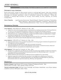 Legal Resume Fascinating Legal Resume Examples 100 Legal Assistant Resume Sample 18
