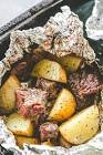 barbecue beef pouch potatoes