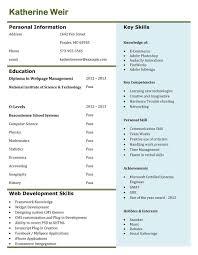 Resume Format For Freshers Resume Samples