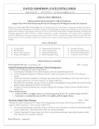 Logistics Resume Examples Manager Cv Template Example For