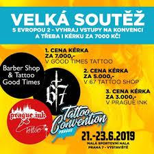 Velká Soutěž Vyhrajte Vstupy A Kérku Tattoo Convention Prague