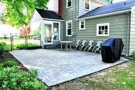 home depot stones patio stone large concrete s ideas