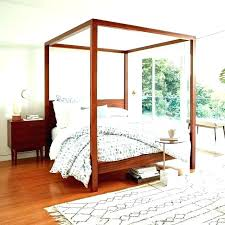 Twin Wood Canopy Bed Loveyourwebsiteco - Blue Ridge Apartments