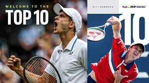 History For Hubi! Hurkacz Cracks The Top 10 | ATP Tour