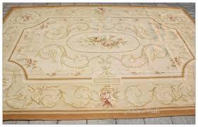aubusson rug 6 8x10 subtle french colors