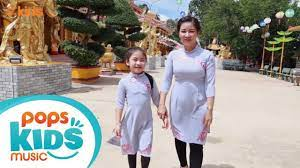 Trái Tim Từ Bi - Bé Trúc Tiên và Mẹ   Nhạc Thiếu Nhi Phật Giáo - YouTube