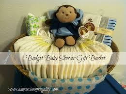 how to make a budget baby shower basket an exercise in frugality