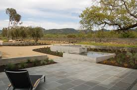 view in gallery modern paver patio with a view
