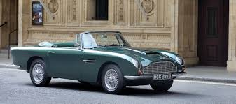 1966 Aston Martin Short Chassis Volante Top Speed