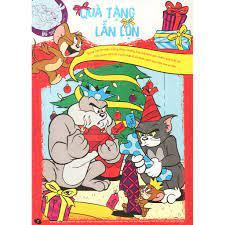 Sách - Tom And Jerry Mùa Hè Sôi Động: Giải Cứu Giáng Sinh, Giá tháng 3/2021