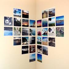View in gallery photo wall corner layout thumb 630xauto 55801 Photo Wall  Collage Without Frames: 17 Layout Ideas