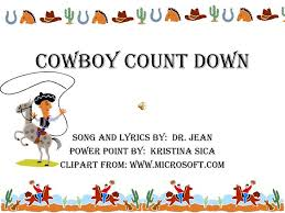 Ppt Cowboy Count Down Powerpoint Presentation Id 2723154