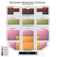 Richard Rodgers Theater Seating Chart Thelifeisdream