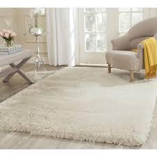 Shaggy Rugs For Living Room Living Room Interesting White Shag Rug For Modern Family Room