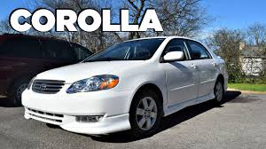 2004 Toyota Corolla S In-Depth Review (Start up, Engine & Tour ...