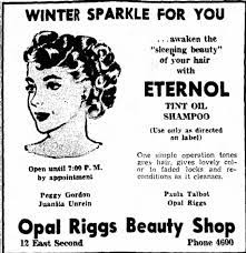 Opal Riggs Beauty Shop - Newspapers.com