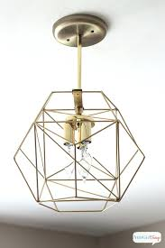 diy ceiling light fixtures you could spend hundreds of dollars on a geometric globe pendant light diy ceiling light