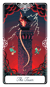 the tower card in the tarot