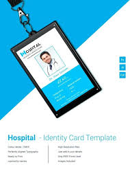 id card design free employee template best resume for cal elegant id card blank template
