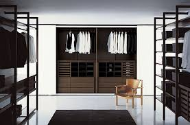 modern interior design with a room with racks