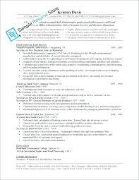 Sample Resume For Executive Secretary – Resume Sample Web