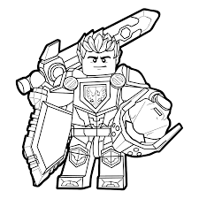 Lego Nexo Knights 2017 Coloring Pages Getcoloringpagescom