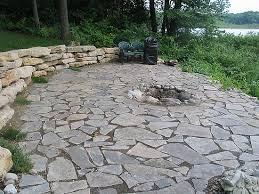 loose flagstone patio. Loose Flagstone Patio E
