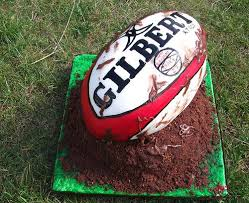 Rugby Ball Cake Decorations