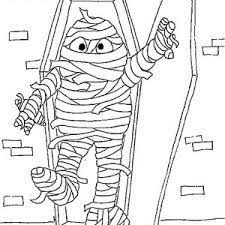 Small Picture Doodle the cat mummy coloring page to color print or download