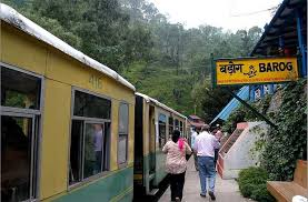 Himalayan Queen Toy Train From Kalka To Shimla In Himachal