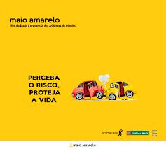 Maio Amarelo: mês dedicado à conscientização no trânsito