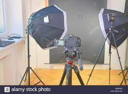 Professional Photography Studio Lighting Equipment Empty Photo Studio With Lighting Equipment Professional