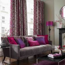 Purple And Grey Living Room Decorating Ideas Mature Impression Of Dark Grey  And Purple Colour Combination