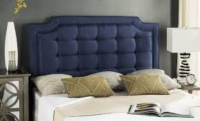 leather padded headboard upholstered wingback headboard queen queen size headboard navy nailhead headboard navy blue upholstered bed