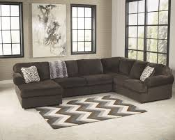 3 piece sectional sofa with chaise. Fine Piece Jessa Place Chocolate 3Piece Sectional Sofa And 3 Piece With Chaise N